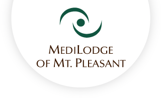 Medilodge of mt pleasant web logo